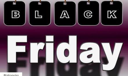 Black Friday szezon: óvakodj a kamu webáruházaktól!
