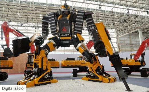 Felejtsük el az összeszerelő munká(s)t, gépek robotolnak majd helyettük