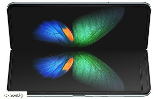 """A Samsung friss dobásai: az első 5G-s és az """"origami"""" okostelefon"""