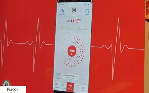 Életmentő mobil applikáció