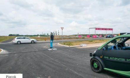 Átadták az 5G-s zalai járműipari tesztpályát