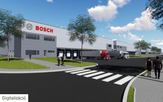 Önvezető autók: gőzerővel épül a Bosch fejlesztőközpontja