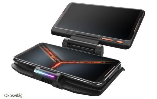 """Innovatív """"legek"""" az Asus új gamer mobiljában"""