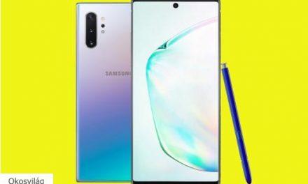 Nagyot megy a Note 10-zel a Samsung