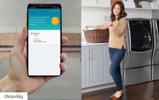 Önjáró online rendeléssel okosítja háztartási gépeit az LG