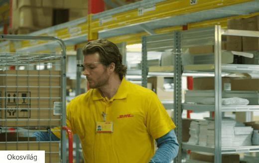 Nálunk is bevezeti az okosszemüvegek használatát a DHL Supply Chain