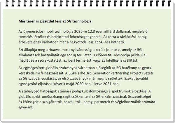 5G technológia