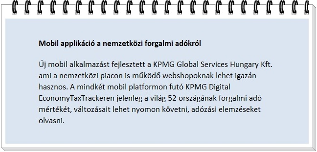 KPMG Digital EconomyTaxTracker