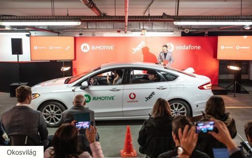 Önvezető autós parkolási rendszer premierje Budapesten