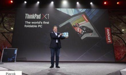 Nyáron jön a világ első hajtogatható képernyőjű laptopja