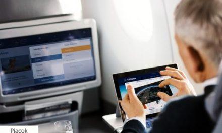 Ingyen wifi a Telekom havidíjasainak a Lufthansa járatokon