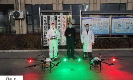 Drónokkal a koronavírus ellen