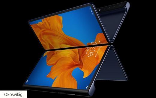 Huawei hajtogathatós okostelefon