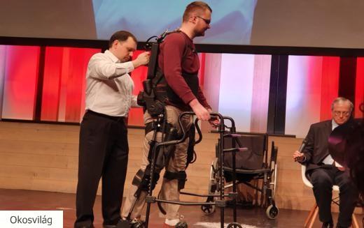 A jövő a robotvázas rehabilitációé