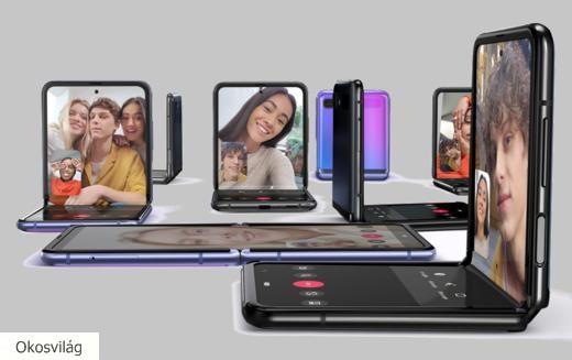 Samsung hajtogatható mobilok