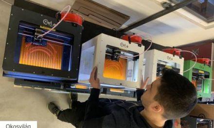 Hazai gyártású 3D nyomtatott védőfelszerelések az egészségügynek