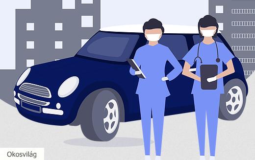 Itthon is elérhető már az autós koronavírus tesztelés