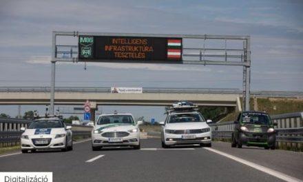 Nem elég, ha autonóm a jövő járműve, a közút is legyen intelligens