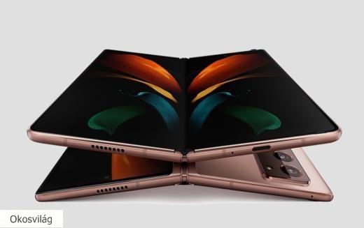 Új mobilos ötösfogat a Samsungtól, egy újabb kihajtható telefonnal