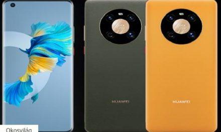 Piacon az első 5 nanométeres 5G chipes Huawei okostelefon