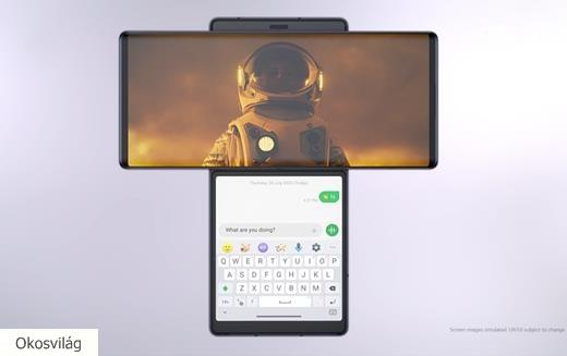 November elején jön az LG új formabontó mobilja