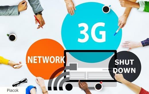 3G hálozatok lekapcsolása