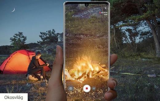 LG feltekerhető okostelefon