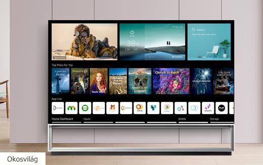 LG idei prémium tévéi