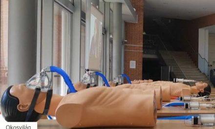 Csoportos lélegeztetőrendszert fejlesztettek az Óbudai Egyetemen