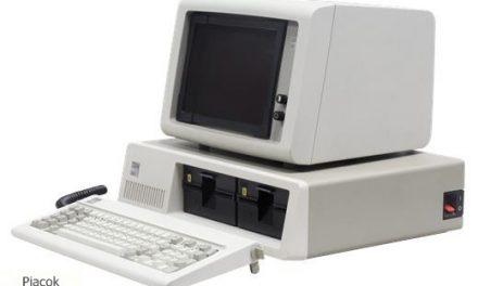 Újabb történelmi évforduló az informatikában – negyvenéves az IBM PC