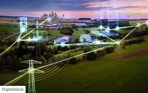 Siemens: az áramhálózatok digitalizációját könnyítik a szimulációs megoldások