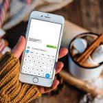 Itt az okostelefonokra optimalizált Qwerty-billentyűzet